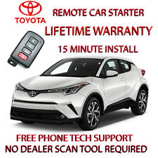 18 TOYOTA CH-R REMOTE START - NO WIRE SPLICING REQUIRED -EASY INSTALL!