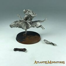 Metal Orc Warg Rider - Warhammer LOTR / Lord of the Rings X947