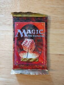 Magic The Gathering 4th Edition SEALED Booster Pack NO RESERVE 1995 Fourth MtG