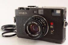 Minolta CLE Rangefinder M Rokkor 40mm f2           (4155)
