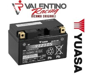 Batterie YTZ10S Yuasa Charge Sigil. Honda CBR 1000 RR à Partir De 2004 Au 2007 E