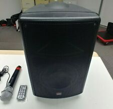 Galaxy Audio TQ8 with handheld wireless microphone, remote and road case