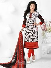 Elegant Crepe Designer Printed Unstitched Dress Material Suit D.No SFD8014