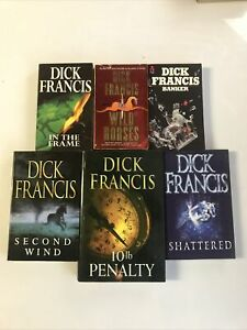 Fiction Bundle Dick Francis books x 6 titles 3 paperback 3 Hardback