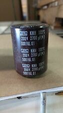 Nippon 2700uf 200v Capacitor 105 degree Celcius EKMH201VQ272MB50T