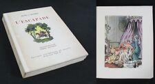 L'ESCAPADE d'Henri de RÉGNIER / Illustrations Pierre ROUSSEAU / Edit. Littéraire