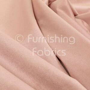 New Soft Quality Low Velour Chenille Pink Velvet Furnishing Upholstery Fabric
