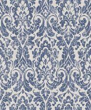 Tapete Vintage Barock Ornament Rasch Pure Vintage weiß blau 516241 (2,99€/1qm)