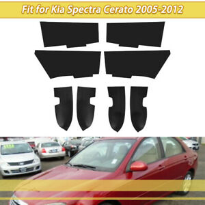 For Kia Spectra Cerato 2005-2012 Leather Cover Car Door Handle Panel Armrest