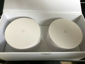 Google Wifi AC1200 2 Points d'Accès - Blancs (GA00190-FR)