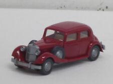 MERCEDES-BENZ 260 D in rosso, volante integrato, O. OVP, Wiking, 1:87