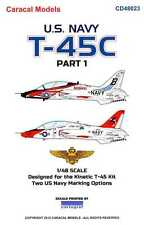 Caracal Decals 1/48 U.S. NAVY T-45C GOSHAWK Part 1