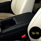Pure Black Car Front Armrest Box Cover Replace Parts Special For Civic 2016-2018
