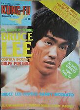 KUNG-FU:NUM.40 - BRUCE LEE (SPANISH MAGAZINE)INCLUYE POSTER GIGANTE !!!!