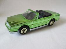 Majorette Green Chrome Cadillac Allanté Car #253 France 1:59 (Mint)