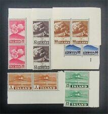 nystamps Iceland Stamp # 246-251 Mint Og Nh $59 J15y938