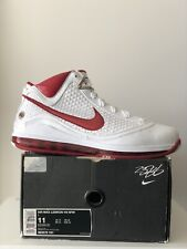Nike Air Max LeBron VII 7 NFW (White/Varsity Red) Size 11 New In Box DS