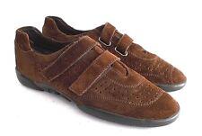 Stuart Weitzman US Women's 8 Narrow EUR 38-39 Dark Brown Suede Walking Shoes
