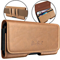 De-Bin Large Phone 12 Pro Max/ 11 Pro Max Holster Case Belt Holder Case Pouch