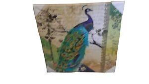 Bild Pfau auf Keilrahmen  ca. 49 cm Dekoration Messeware Pajoma