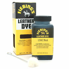 USMC Black Fiebing's Leather Dye 4 oz 2100-01
