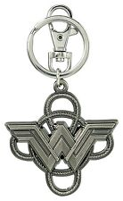 DC Comics Wonder Woman Logo with Lasso Pewter Key Ring  HOT