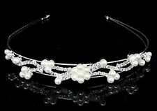 Cerchietto Branch Strass Perle accessori capelli fermacapelli acconciatura sposa