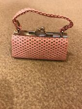 Coin Purse Pink And Silver