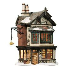 "Dept. 56 Dickens' Village ""EBENEZER SCROOGE'S HOUSE"" ~ ANIMATED ~MIB"