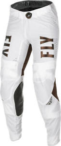2021 Fly Racing Copper LE Lite Pants Adult White Motocross Offroad MX ATV Riding