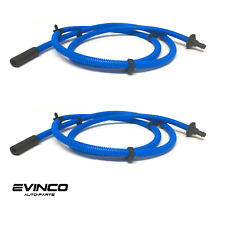MOPAR Two Sunroof Drain Hoses For 2000-2002 Jeep Grand Cherokee OEM 55136967AD