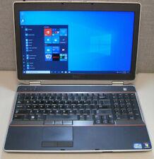 """New listing Dell Latitude E6520 15.6"""" i5-2520M 2.5Ghz 4Gb 128Gb Ssd 1600x900 Win10"""