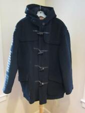 Mens Classic GLOVERALL Navy Blue Wool Duffle Coat ENGLAND Sz 50/USA 40 or M