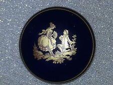 LIMOGES Box Cobalt Blue Porcelain bought in 1979 in Paris on Honeymoon.  Free Sh