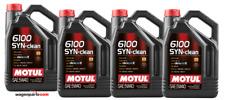 Aceite motor Motul 6100 Syn-clean 5w40 Acea C3 Rn0710 Dexos 2 DPF pack 20 LTS