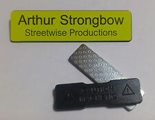 Yellow Engraved 75x19mm Name Tag Badge - Magnet fastener