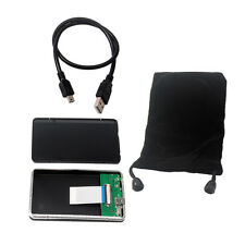 """USB 2.0 to 1.8"""" 40pin CE ZIF Hard Disk Enclosure External HDD Adapter Case"""