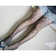 Women Girl New Elastic Stocking Black Hollow Spider Web Hosiery Tights Pantyhose