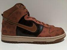 2006 Nike Dunk High Premium QS Mighty Crown Bison Brown Bone Size 12 314263 221