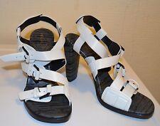 Salvare £ 445! 3.1 PHILLIP LIM con cinturini bianco sandalo tacco alto UK4/EU37, prezzo consigliato £ 520