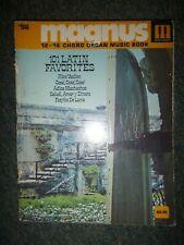 Magnus & Estey Chord Organ Music (with numbers) ... 101 Latin Favorites
