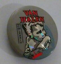 Van Halen Mcmlxxxiv Vintage Collectible Badge Button Pin Lot Rare L@K