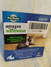 PetSafe SSSCAT Spray Dog and Cat Deterrent System ~ Motion Activated ~ NEW