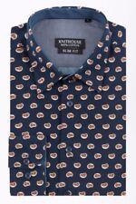 Woolen Long Sleeve Regular Size Casual Shirts & Tops for Men