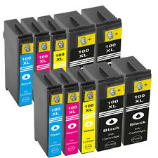 10 Ink Cartridges For Lexmark NO.100XL S815 S305 S602 S605 S402 S405 S505