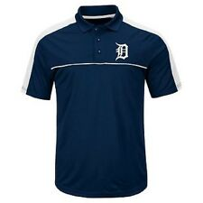 MLB Detroit Tigers Mens Short Sleeve Polo Shirt Men's Medium