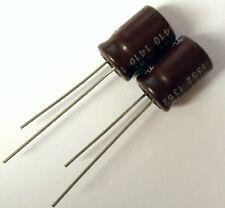 2x Condensateur 6.3 V 820 uF radial électrolytique / 2x Aluminium Capacitor