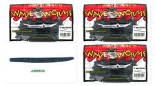 "(3) Unopened Packs Wave Plastics 4"" Baby Tiki-Stick Junebug Brand New"