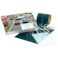 Jeu de construction de route Inclus 50pcs. Accessoires de conception Busch 7096/