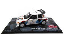 Peugeot 205 Turbo 16 E2 Rallye Monte Carlo 1986 - 1:43 IXO Voiture miniature RB7